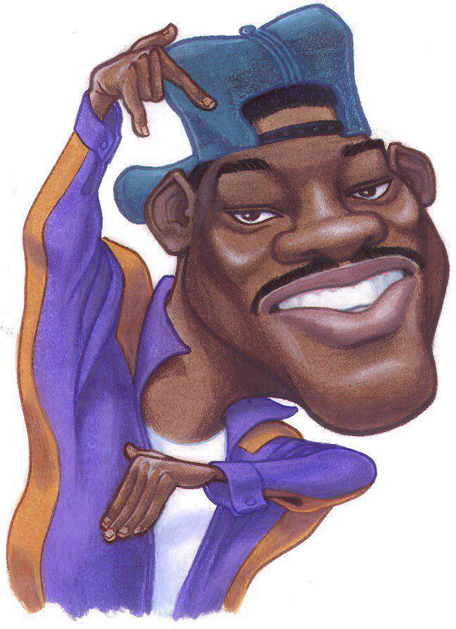 Will Smith caricature