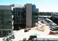 The construction on the new Math and Sciences  building is on schedule.
