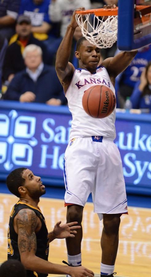 NCAA Basketball: Towson v Kansas