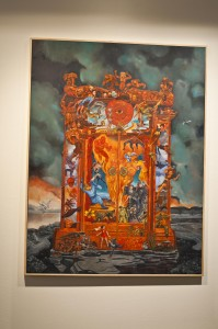 "Perry Vasquez's ""The Gates of Heck""."