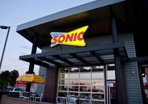 The front entrance of the new Sonic in Kearny Mesa. Photo Credit: David Nguyen.