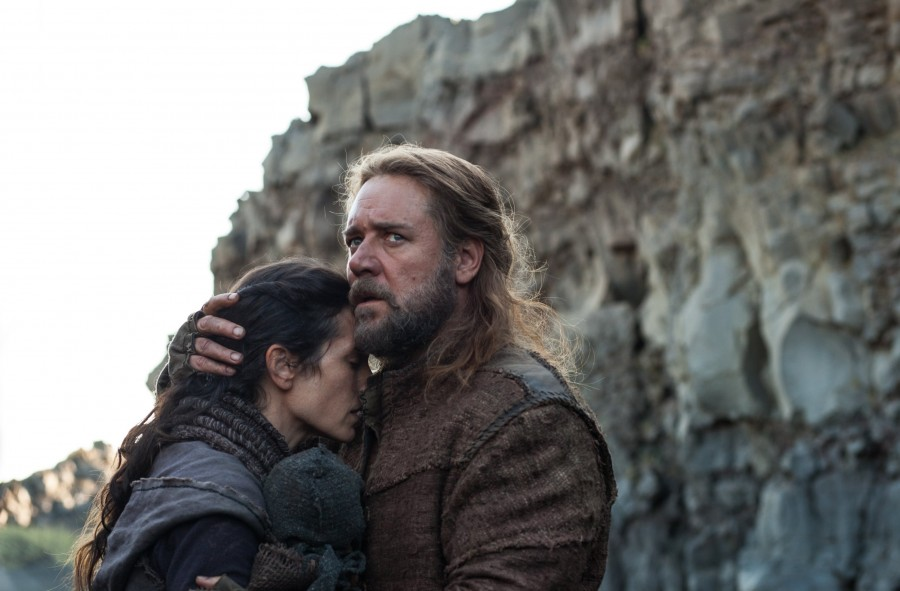 Jennifer Connelly, left, is Naameh and Russell Crowe is Noah in Noah, from Paramount Pictures and Regency Enterprises. Photo courtesy of MCT Campus
