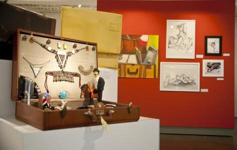 Last student Art Show of semester