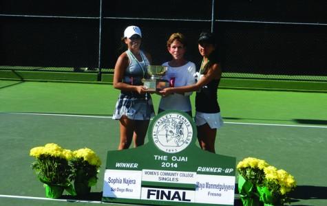 Najera wins tennis State Championship