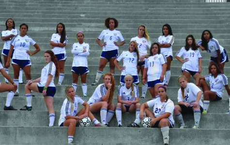 Lady Olympians women's soccer wins conference title