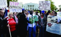 Immigrant families rally at White House to demand reform- DC