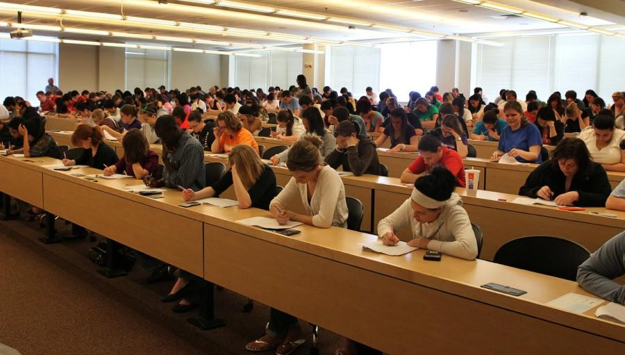 Everyone experiences stress during finals. Overcoming it will help you be more successful.