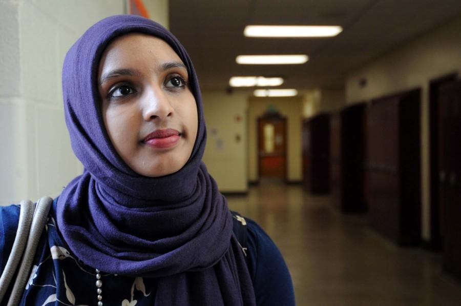 Teen speaks out on behalf of Muslim community