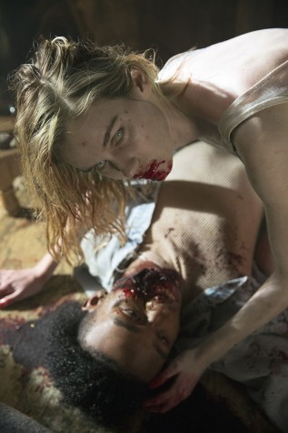 "The zombies on ""Fear the Walking Dead"" -- in this case, actress Lexi Johnson as the undead Gloria -- are a bit fresher than we're used to. (Justin Lubin/AMC/TNS)"