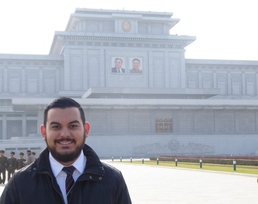 Kumsusan Palace of the Sun, the final resting place for Kim Jong Il and Kim Il Sung.