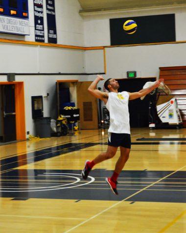 Mesa's Mens Volley Ball team spikes a new season