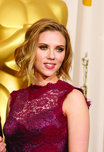 Scarlett Johansson at the 83rd Annual Academy Awards at the Kodak Theatre in Los Angeles, on Feb. 27, 2011. (Allen J. Schaben/Los Angeles Times/MCT)