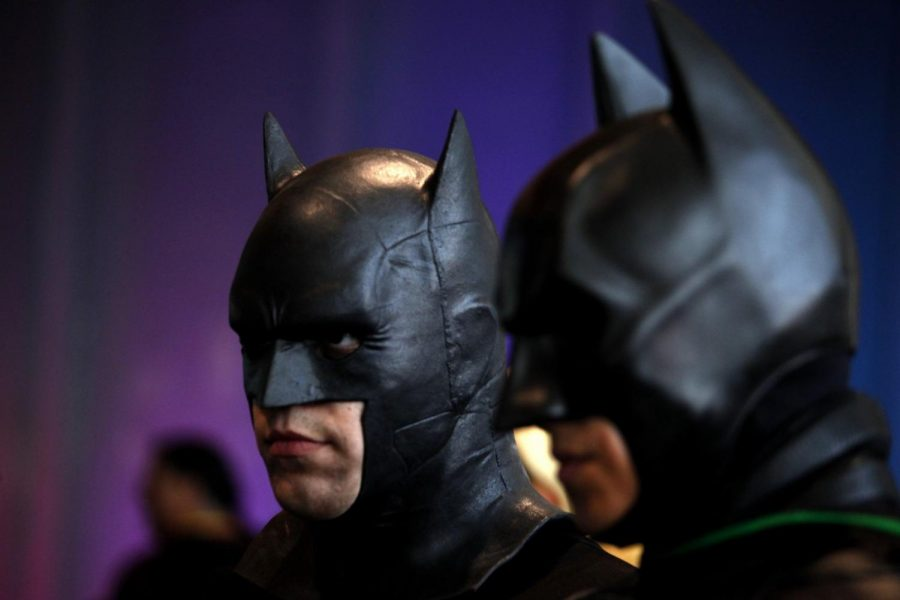 Here we have Batman and Batman, probably having a meeting with other Batmans, discussing future Batmans. Photo Credit: MCT Campus.