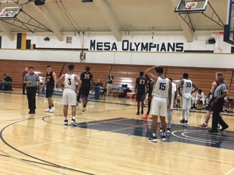 The Panthers maul Olympians in men's basketball