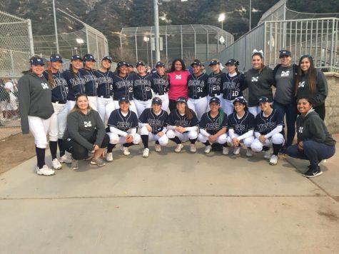 Mesa Softball Destroys Saddleback 9-1