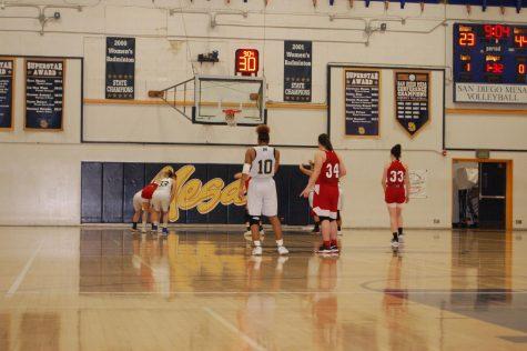 Women's basketball lose final game of the season