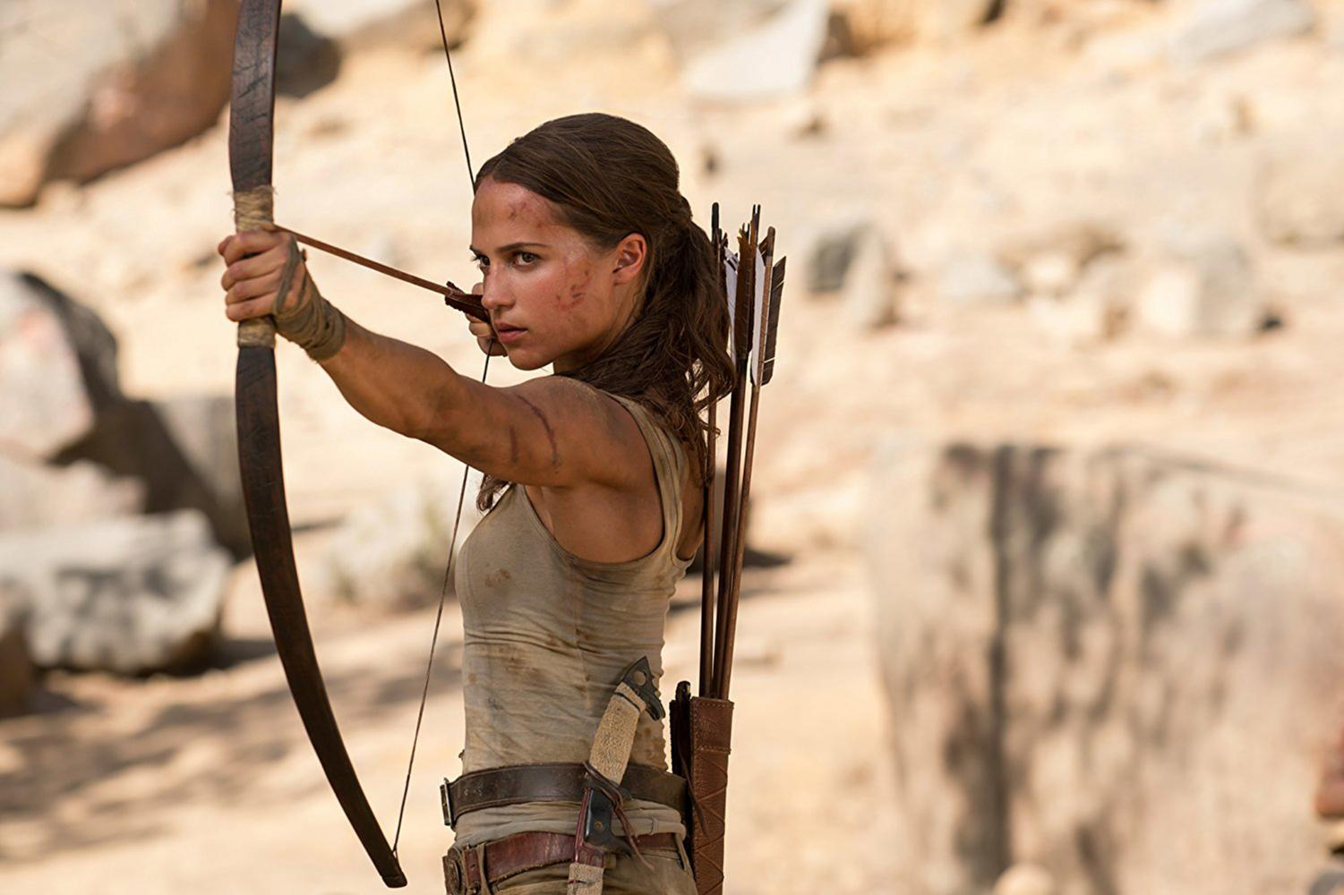 Alicia Vikander becomes new Lara Croft in the