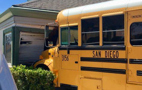 School Bus crashes into Children's Center near Mesa College