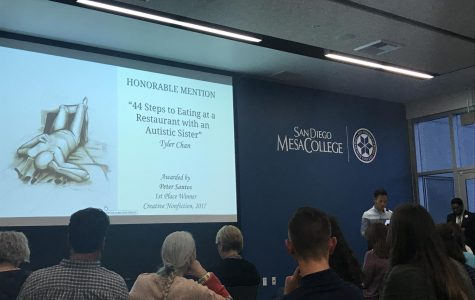 """Literary magazine """"Mesa Visions"""" holds its annual award ceremony"""