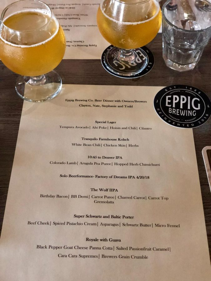 Eppig+Brewing%27s+first+beer+tasting+of+the+night-+the+Special+Lager+