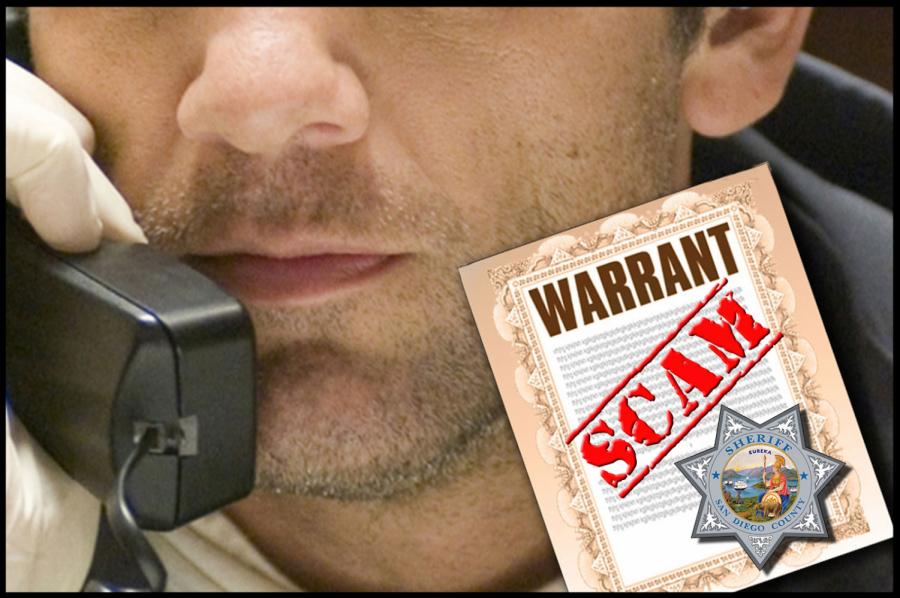 Warrant scam returns
