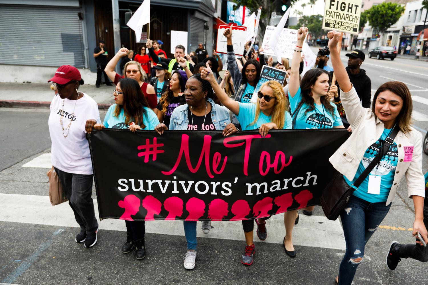 Women protest #MeToo movement. Photo Credit: MCT Campus.
