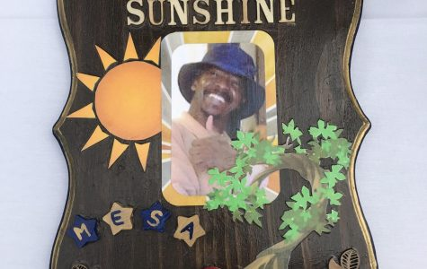 The eternal Ray of sunshine at Mesa College.