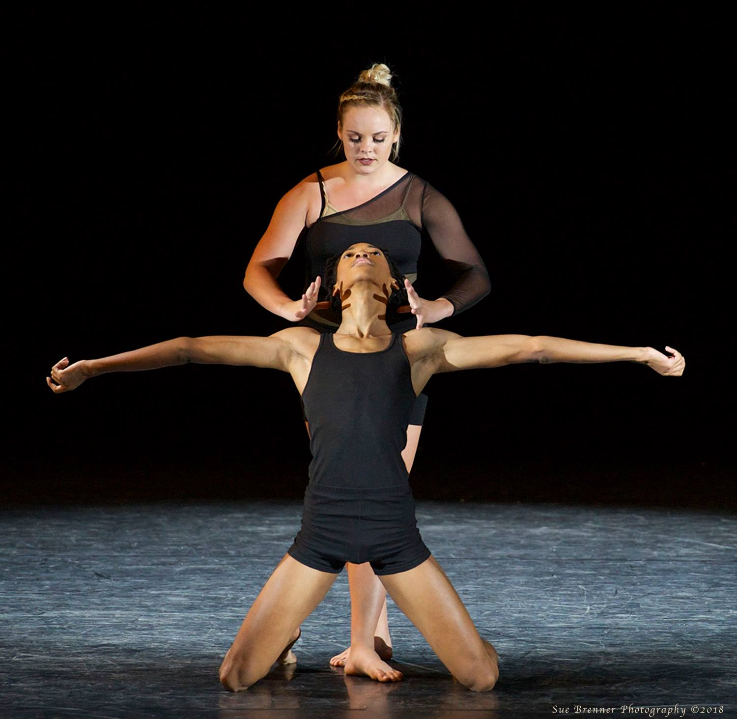 Mackenzie Thate and  Kenneth Harian stole the show with their contemporary duet