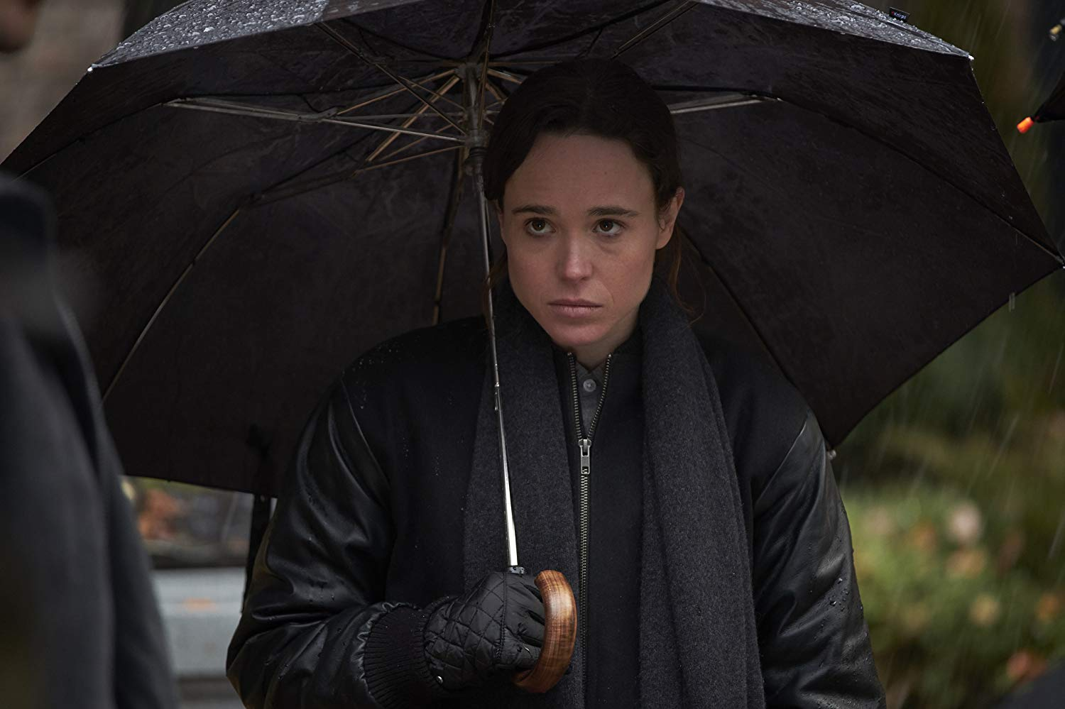 For the first time in 17 years, Vanya reunites with her siblings during their father's funeral. Photo Credit: IMDb.com