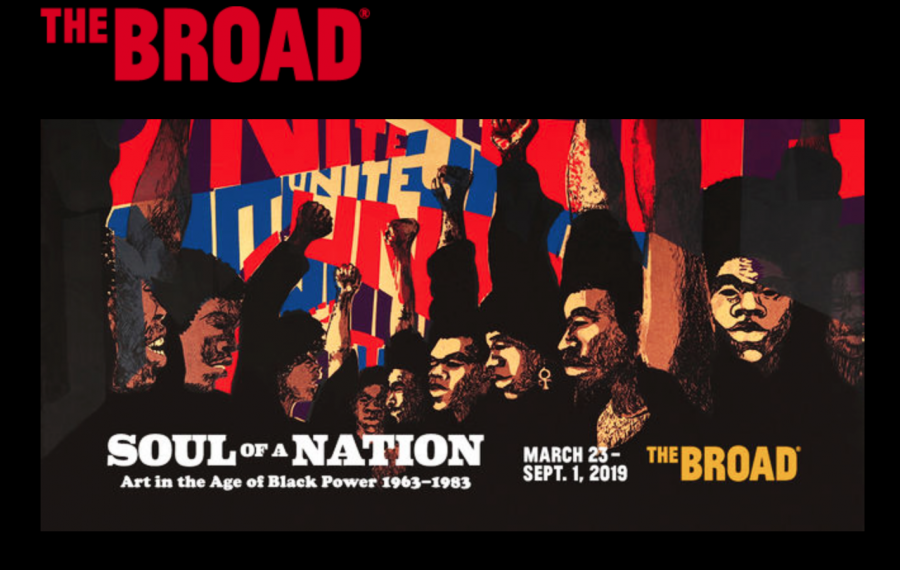 The+Broad%27s+official+poster+for+%22Soul+of+a+Nation%22+features+Barbara+Jones-Hogu%27s+1971+piece%2C+%22Unite%2C%22+which+embodies+the+theme+for+the+show.+Photo+Courtesy%3A+Mesa+Art+Department.