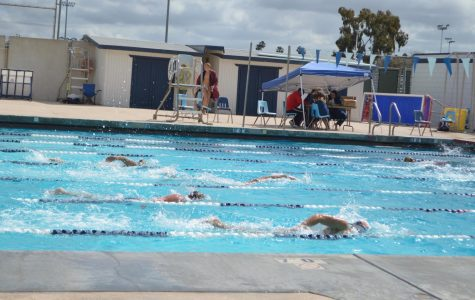 Mesa Swim Team Defeated by Mount San Antonio in Annual Meet