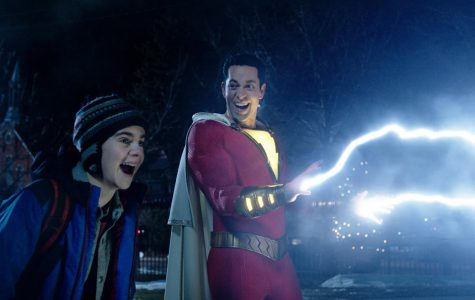 Shazam shows off his newly found lightning superpowers  Photo Credits : MCT Campus