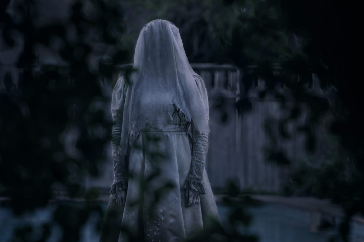 La Llorona waiting for her next victim. Photo Credit: IMDb.com