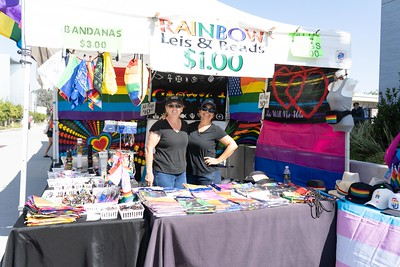 A booth at the LGBTQ+ Celebration week.