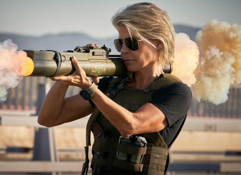 "Linda Hamilton returns to the role of Sarah Connor in ""Terminator: Dark Fate."""