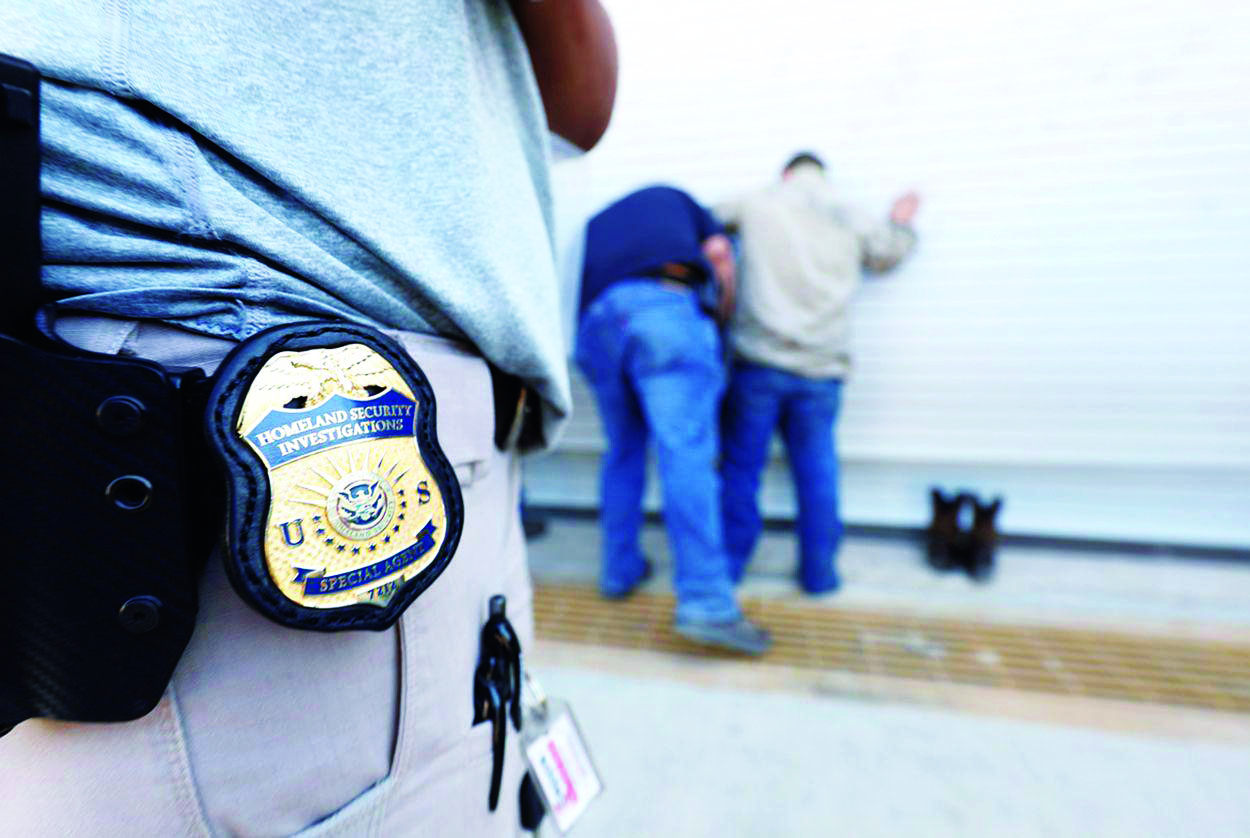 U.S. Immigration and Customs Enforcement cracks down on deportation