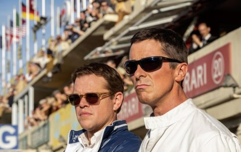 Matt Damon (left) and Christian Bale (right) pay tribute in