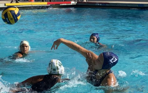 Women's water polo ends regular season with a loss