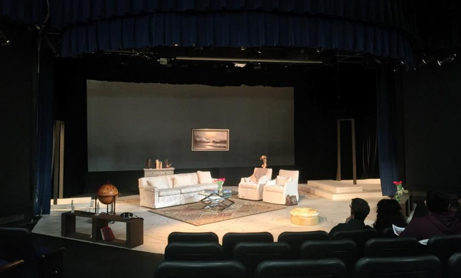 "Mesa College presents a theater performance ""God of Carnage"""