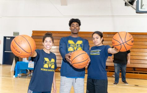 Mesa hosts its first annual free throw challenge to raise money for the Resiliency Fund