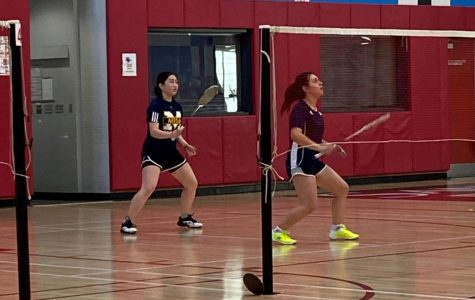 Women's badminton loses joust with the Knights