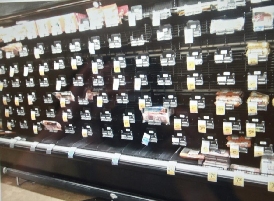 Food shopping a challenge during COVID-19 pandemic