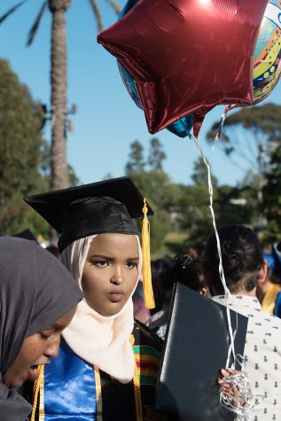 SDCCD spring 2020 commencements, scheduled for May and early June, have been postponed indefinitely.  Photo Credit: Office of Communications
