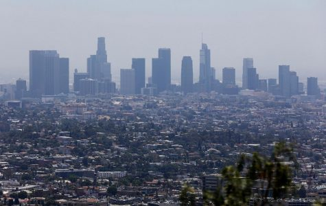 Smog is clearing up in Los Angeles.  Photo Credit: Christina House/Los Angeles Times/TN