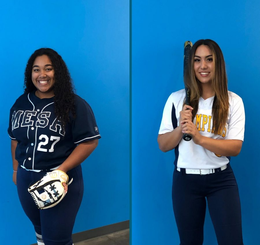 Gonzalez+and+Wright+led+the+Olympians+in+batting+average%2C+home+runs+and+RBIs.+++++++++++Photo+Credit%3A+Assistant+Coach+Nicole+Dall