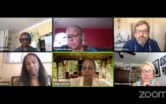 President Pamela Luster hosts Campus Community Forum on anti-blackness
