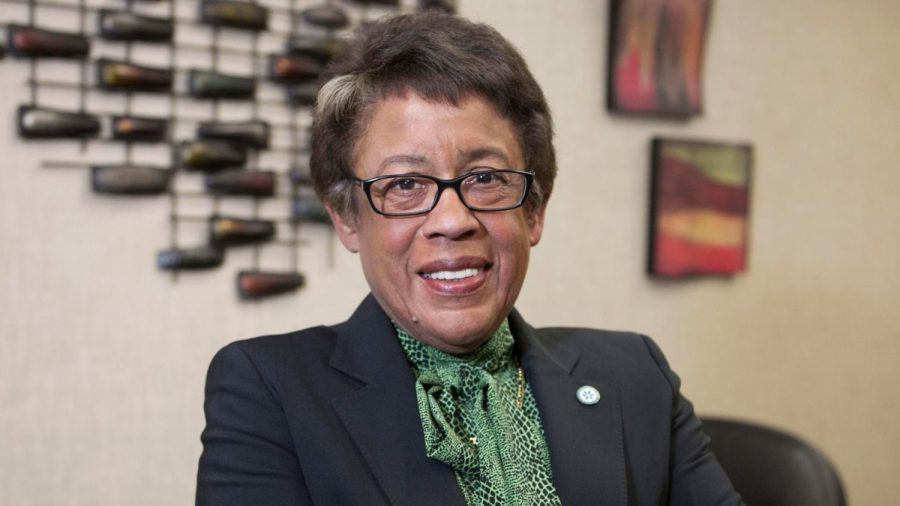 Constance Carroll, chancellor of the San Diego Community College District.
