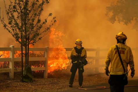 Firefighters have been working hard to contain the fires in Northern California.