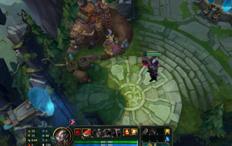 Players in League of Legends can move their hero and take out the enemy Nexus.