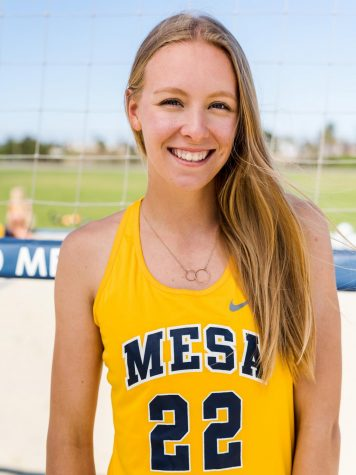 Love at first spike: Harris excited for her future with volleyball